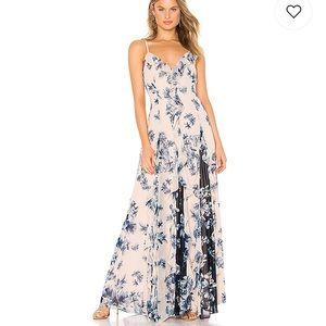 BCBGMaxazria Divine Bloom Peach Dress